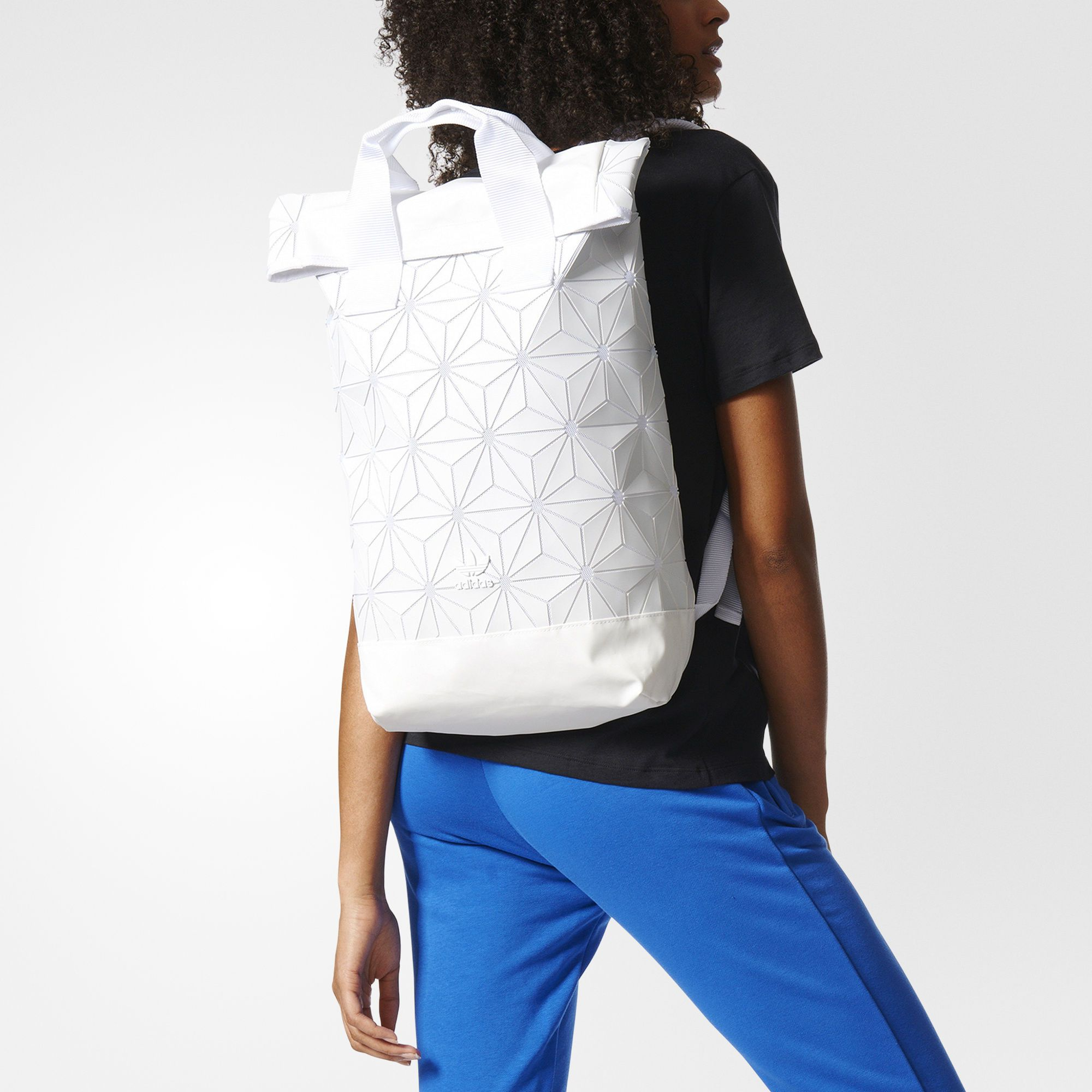 Adidas 3d Roll Top Mesh Backpack Crossover By Issey Miyake Mesh Backpack Backpacks Fashion