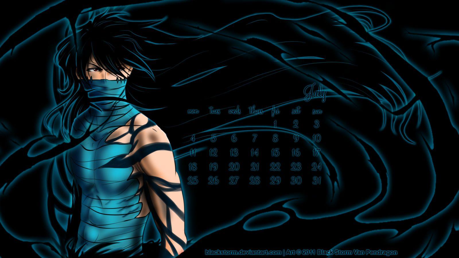 Anime BLEACH Kurosaki Ichigo Mugetsu Blackstorm