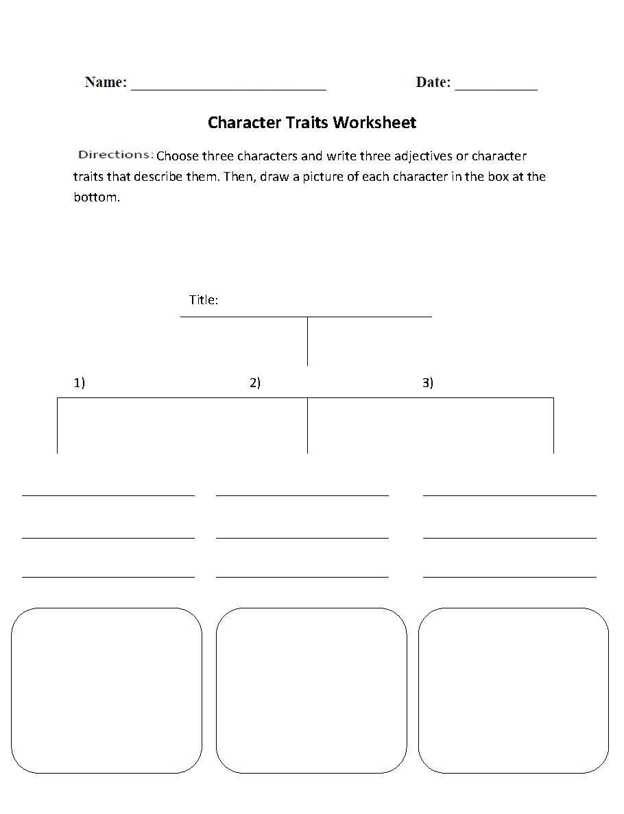 worksheet Character Traits Worksheets character traits analysis worksheet school pinterest worksheet