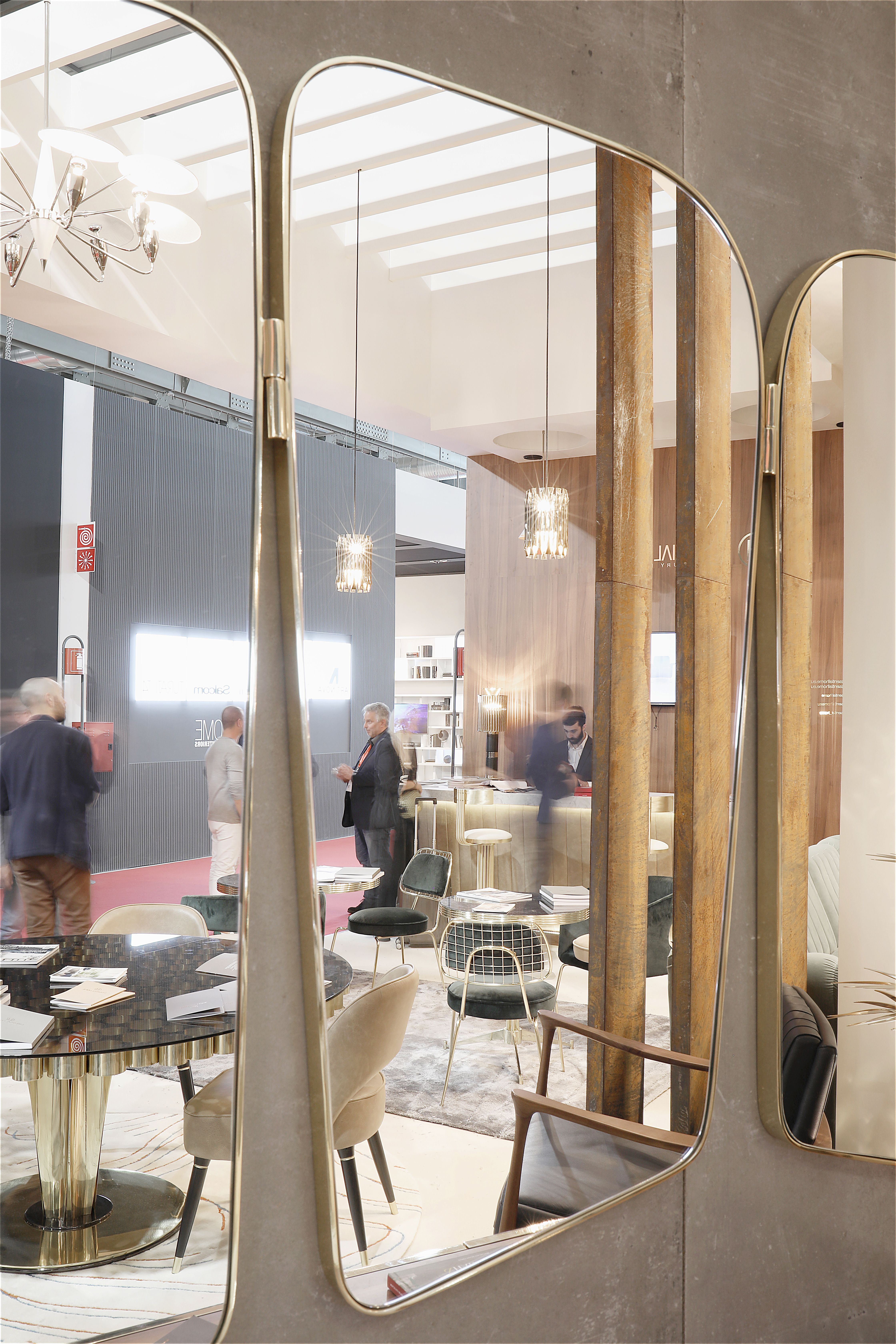 Visit essential home at salone del mobile hall stand c