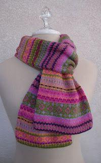 The Flitter Knitter: Falling for Fair Isle!