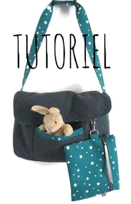Image of Tutoriel du sac à poussette Couture Pour Bébé, Petite Couture, Couture  Enfant 101fb5d5301