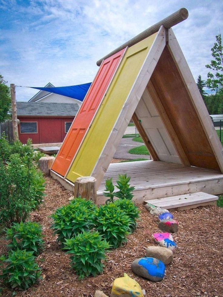 45+ Remarkable Backyard Playground Landscaping Ideas,  #backyardplayhouse #gardenlandscaping #playground #Backyard #Playground