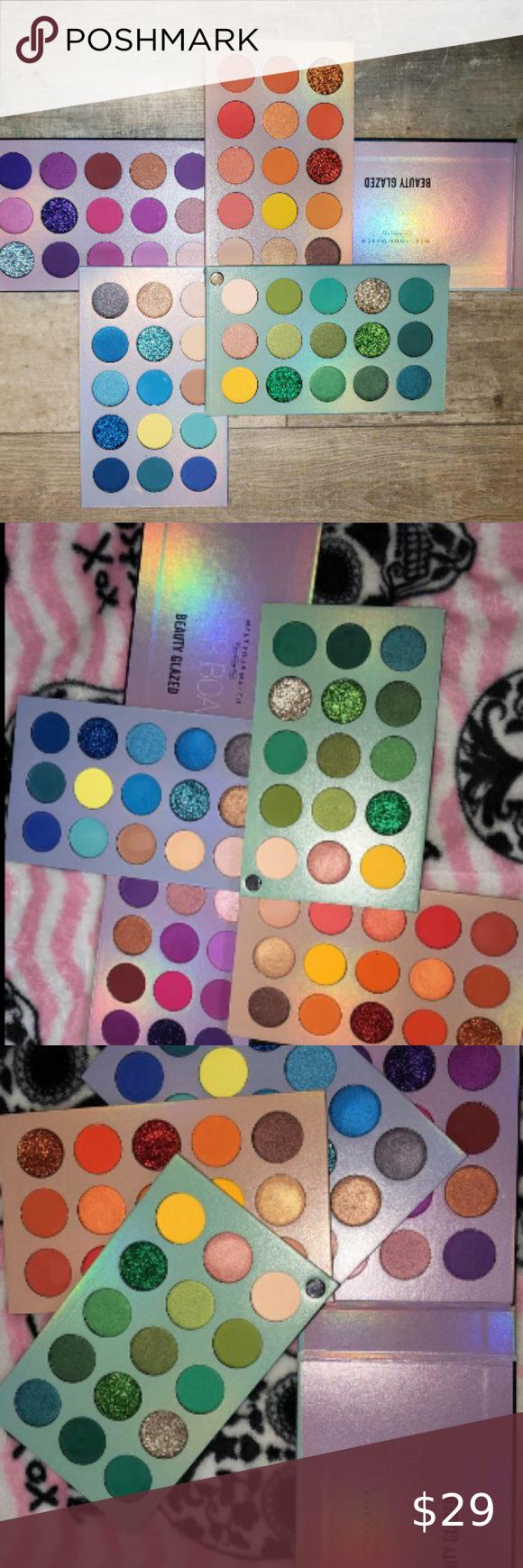 60 Colors Eyeshadow Palette 4 In 1 Color Eyeshadow Eyeshadow Palette Casual Makeup