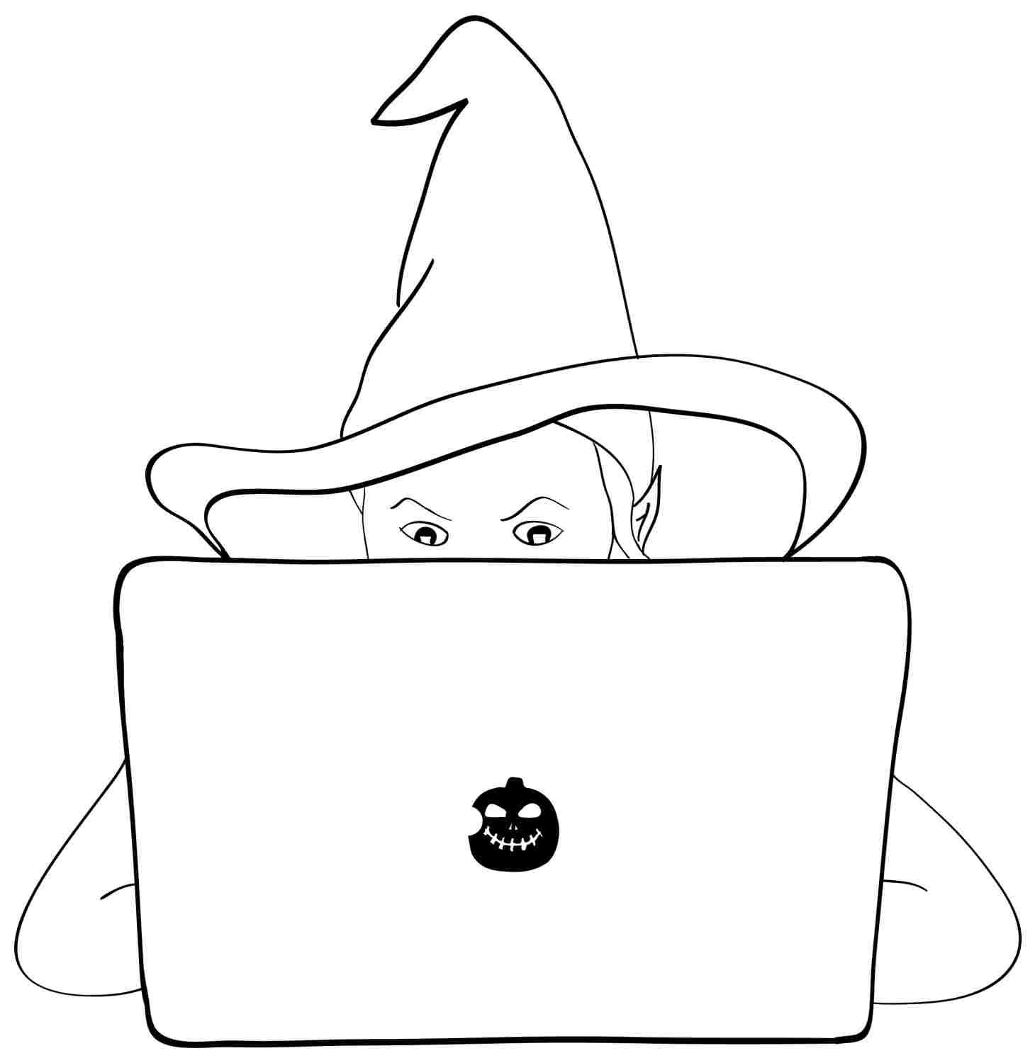 Halloween Witch Coloring Pages | 78-halloween-witch-coloring-pages-printable.jpg
