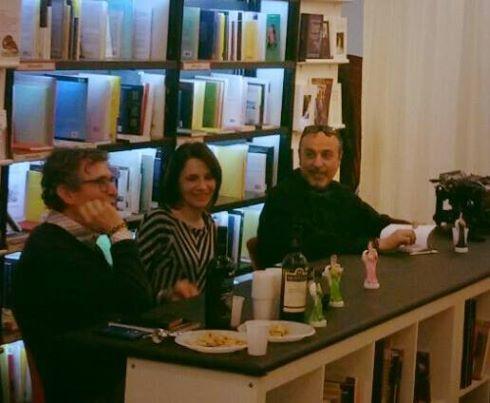 Silvia Mobili ~ Libreria odradek roma. i tre autori silvia mobili paolo vanacore