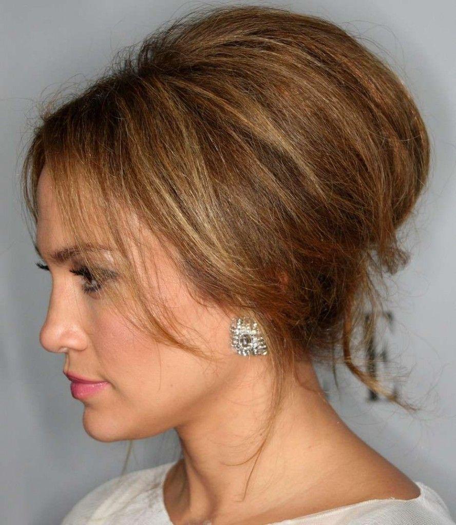 hairstyles-jlo-bouffant-wedding | medium hairstyles | pinterest