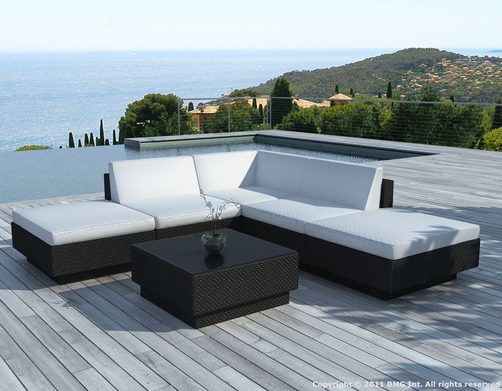 Salon De Jardin Resine Blanc Design > salon de jardin 6 ?l?ments r ...