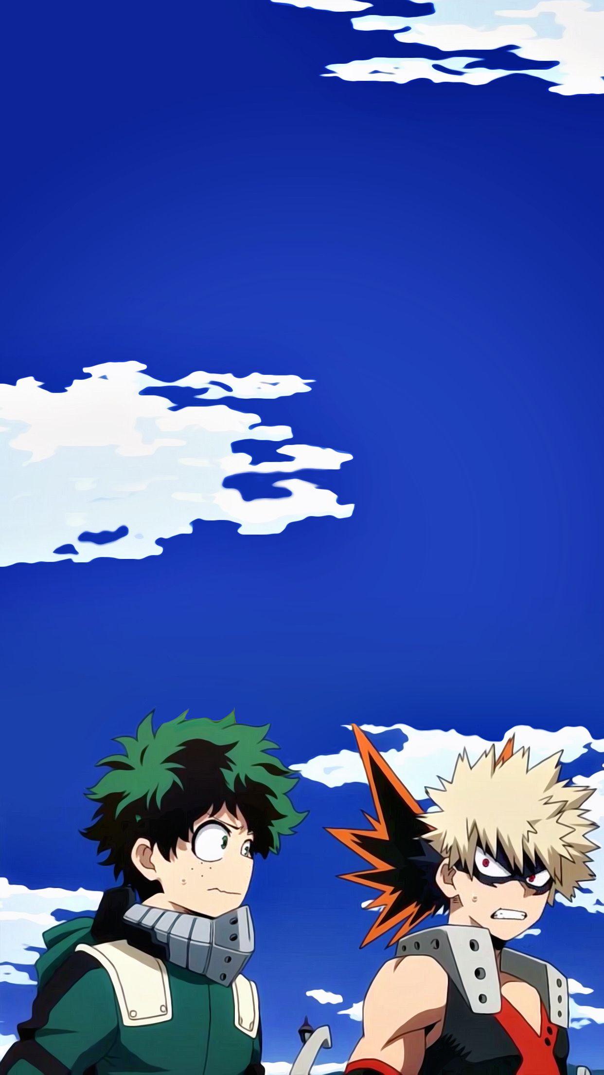 Deku Kacchan Hero Wallpaper Anime Villians Cute Anime Wallpaper