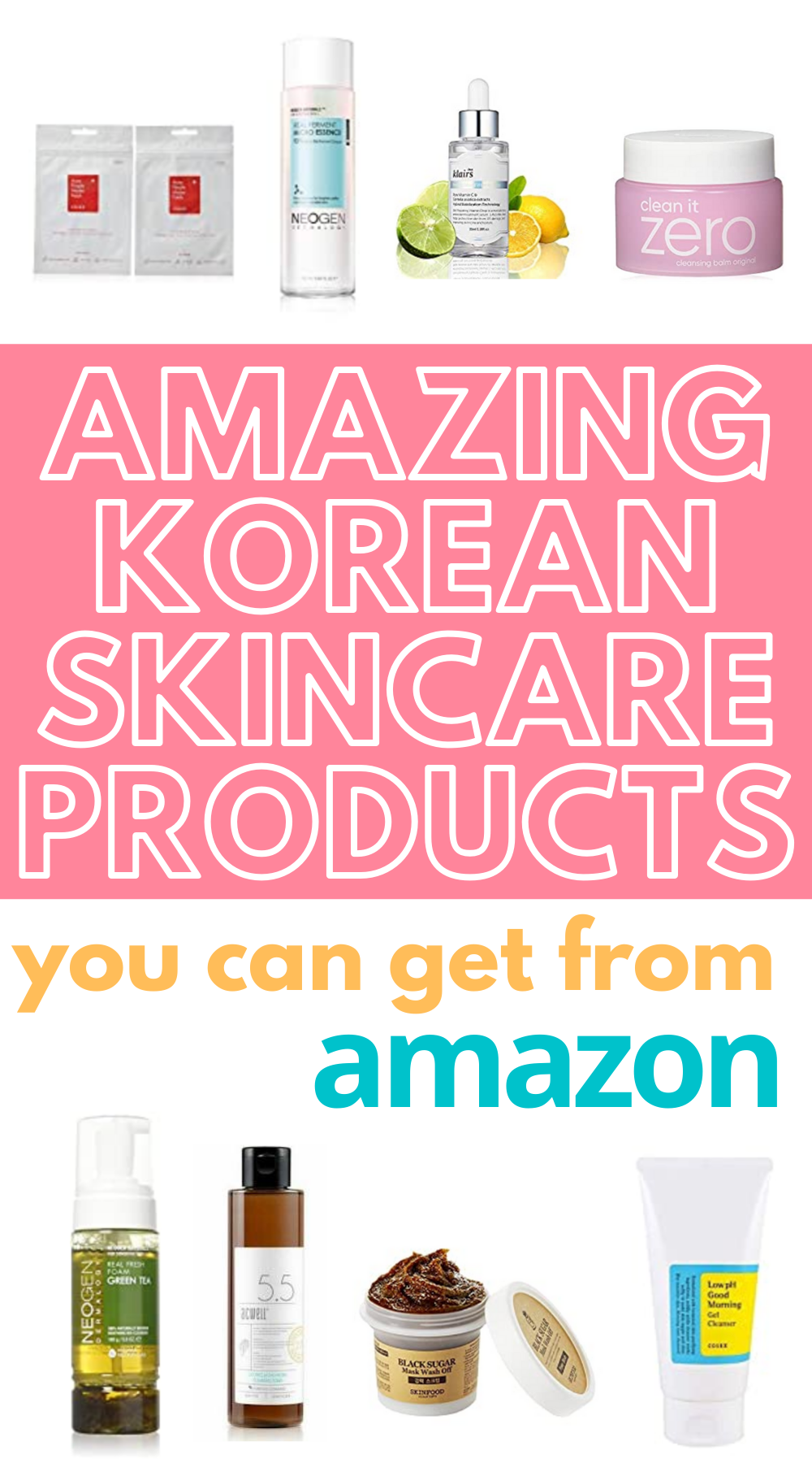 Best Korean Skincare Products You Can Get on Amazon in