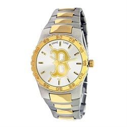 Boston Red Sox  Dress Watch - Stainless Steel and Gold Band