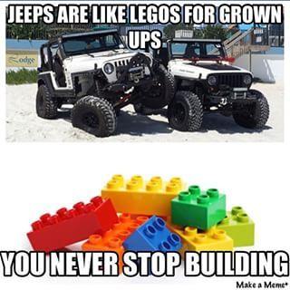Jeep wrangler meme
