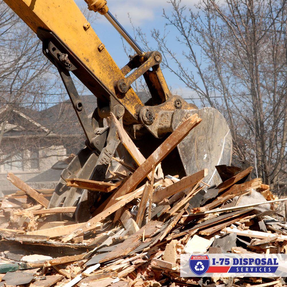 Demolition i75 disposal demolition demolition