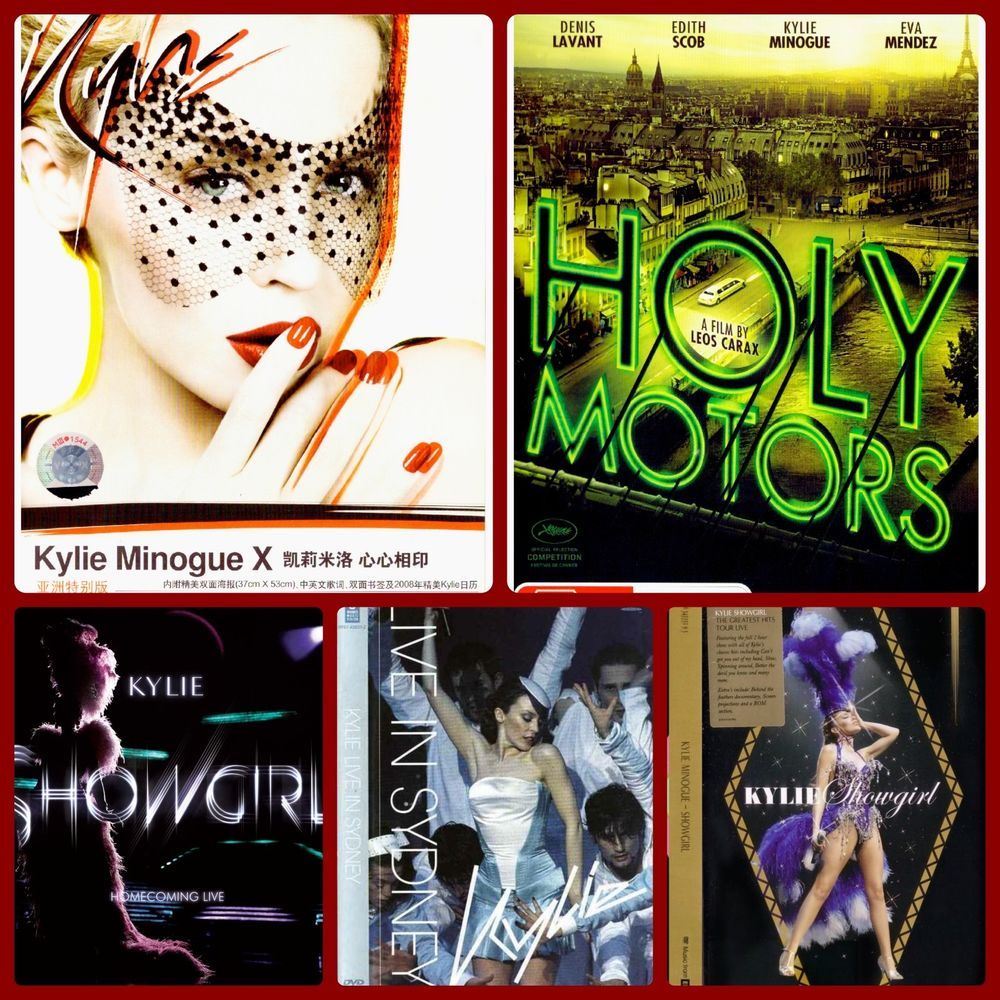 Check out Kylie Minogue DVD Bundle Set + Two CD\'s ( Live ...