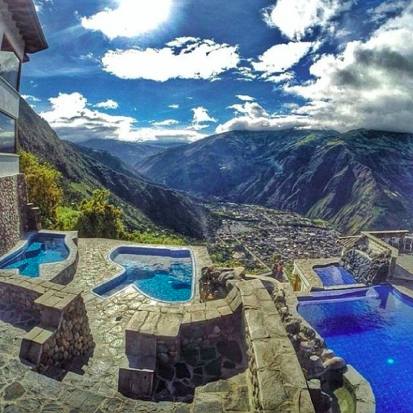 Luna runtun adventure spa hotel ecuador destination - Hoteles en banos ecuador ...