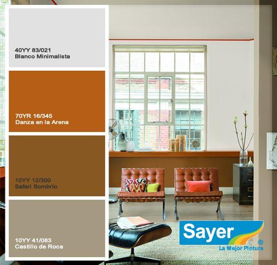 Combina El Color De Tus Paredes Con El De Tus Muebles Y Tendras Una Excelente Combinacion Sayer Muebles Colores Minimalista