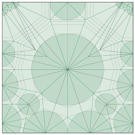 Robert Lang Crease Pattern For An Origami Scorpion
