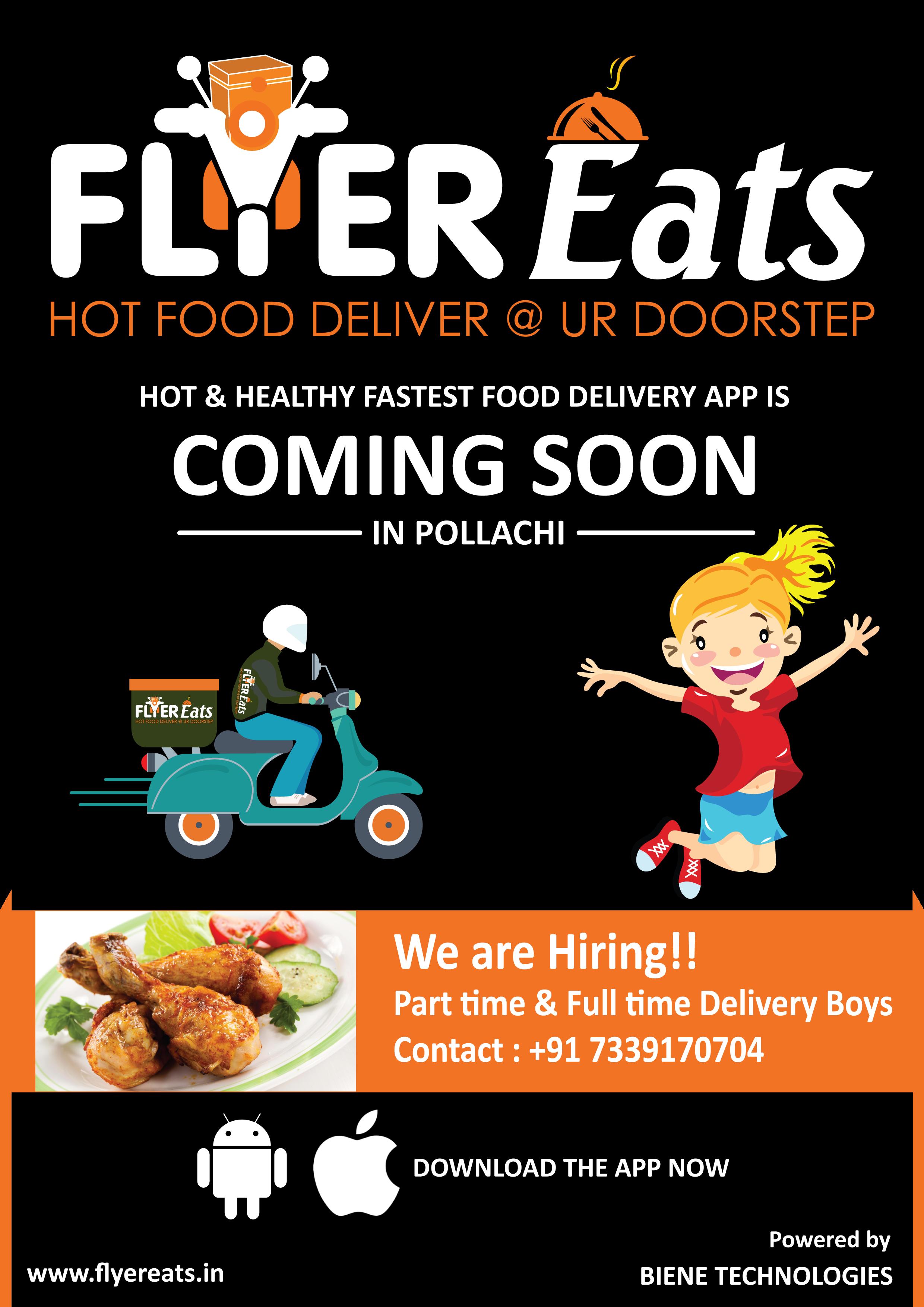 Flyer Eats Karur Clicks Food Delivery App Fast Healthy Meals Foods Delivered