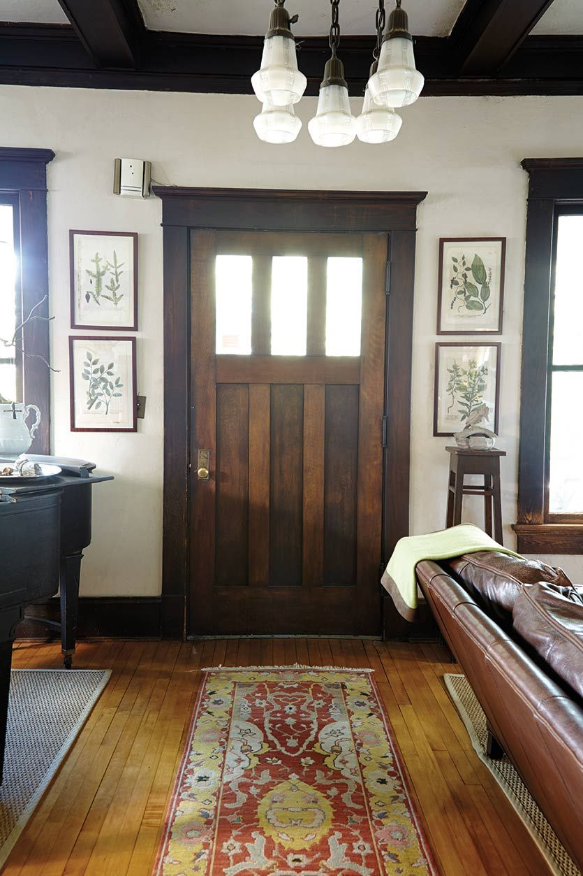 Tour of a Craftsman Home in Atlanta GA  Entryway Inspiration  Craftsman home decor Craftsman