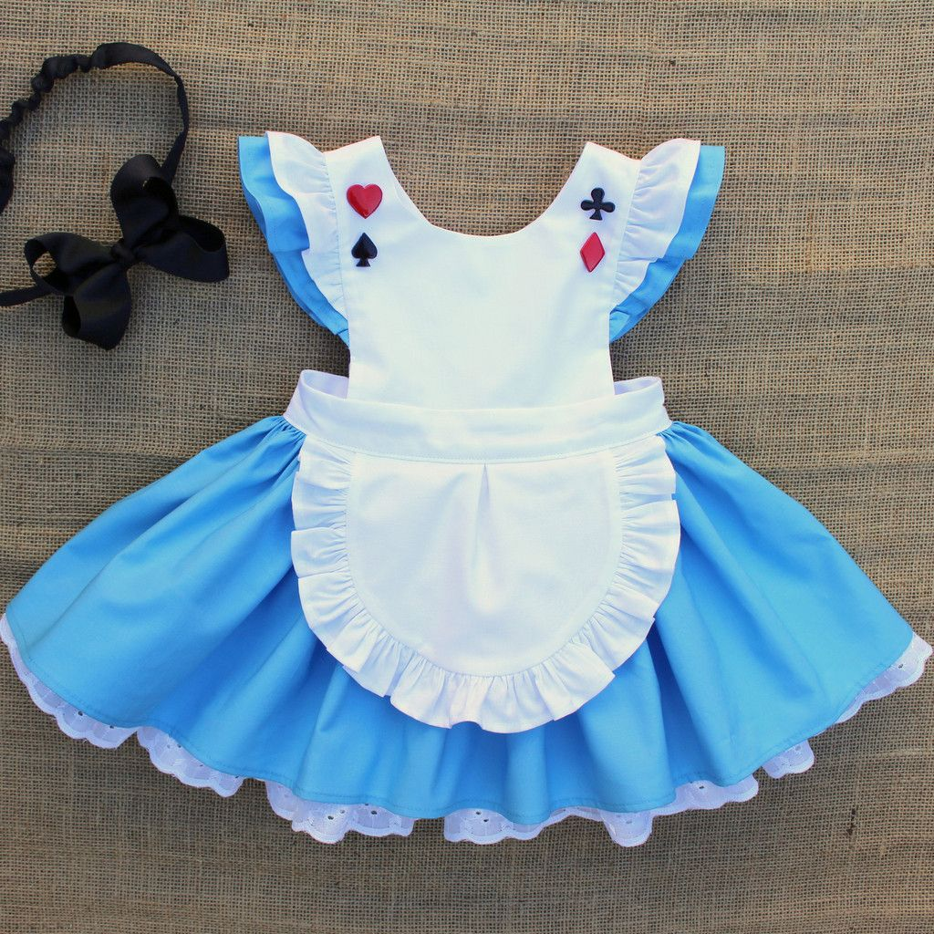 Alice Dress With Images Alice In Wonderland Dress Alice In