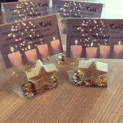 """@teach_love_and_be_happy on Instagram: """"� Es sind die kleinen Dinge im Leben, die glücklich machen! Daher habe ich heute Nachmittag diese kleinen Tütchen mit einer Kerze…"""""""