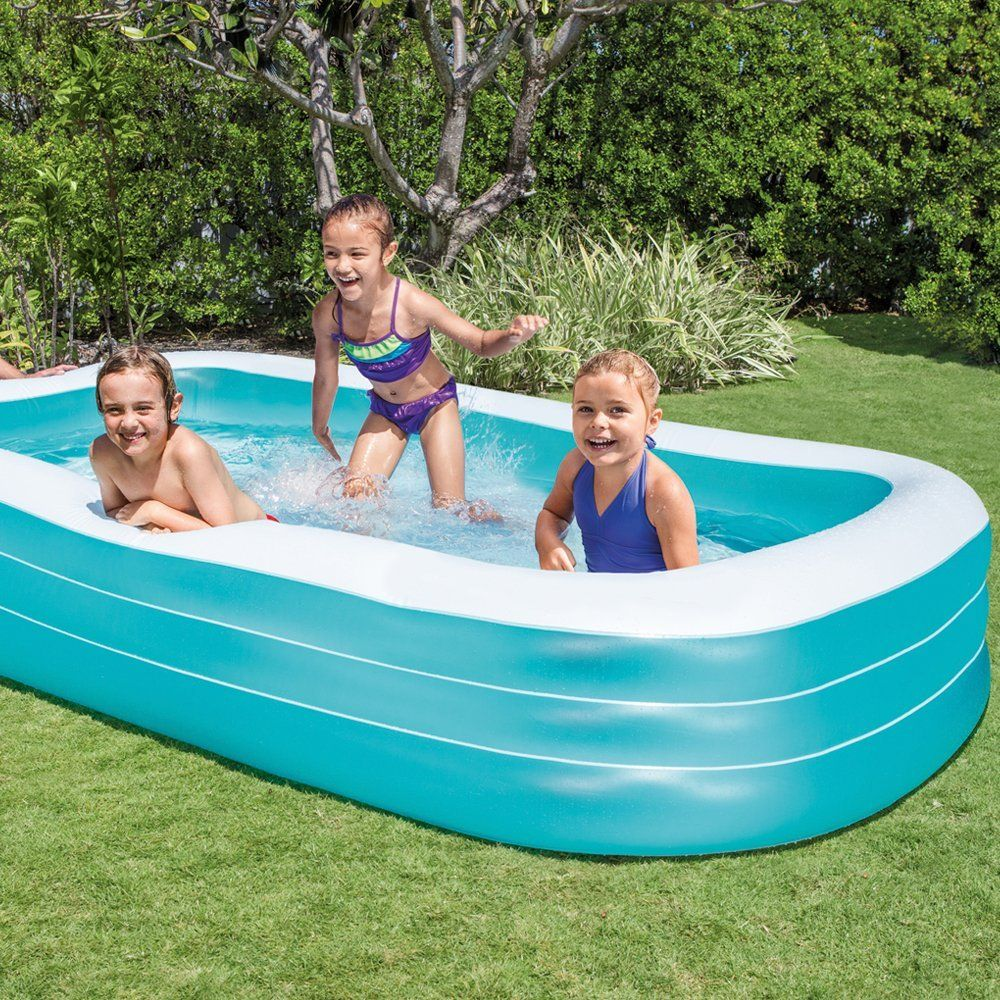 Intex Swim Center Family Inflatable Pool Only 17.99 (Reg