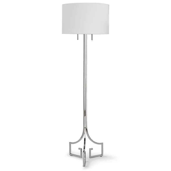 Le Chic Floor Lamp By Regina Andrew. Available In Gold Or Polished Nickel.