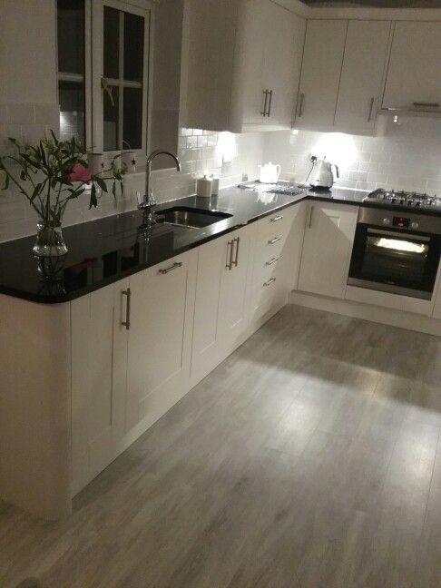 Wren Living In 2020 Open Plan Kitchen Living Room Amtico Flooring Kitchen Wren Kitchen