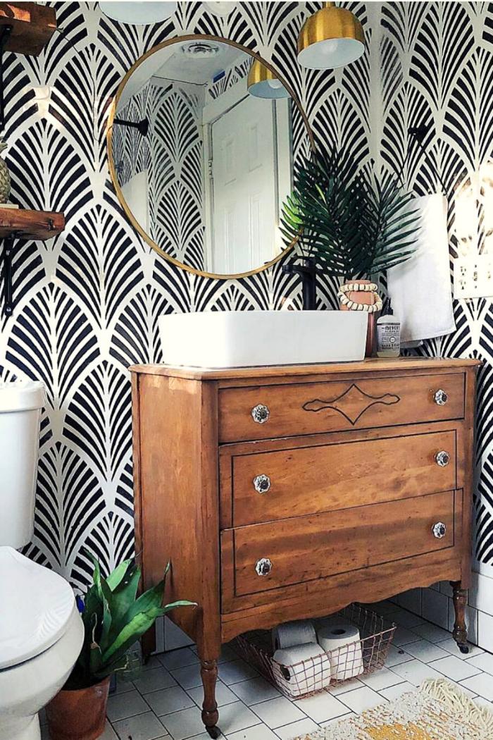 Wooden Bathroom Storage Ideas