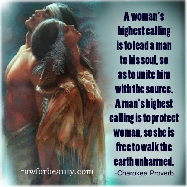 Woman. Man.