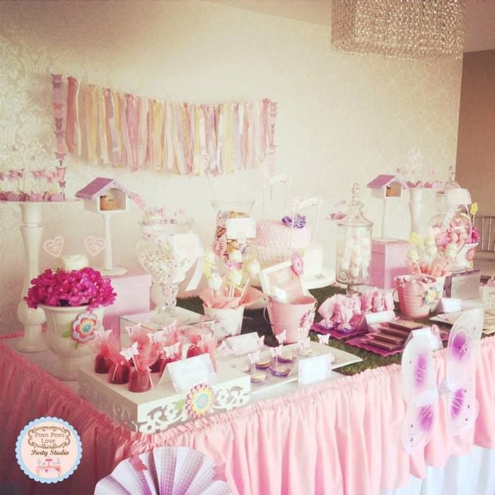 Butterfly Theme For Baby Shower Part - 15: 25 Baby Shower Ideas For Girl