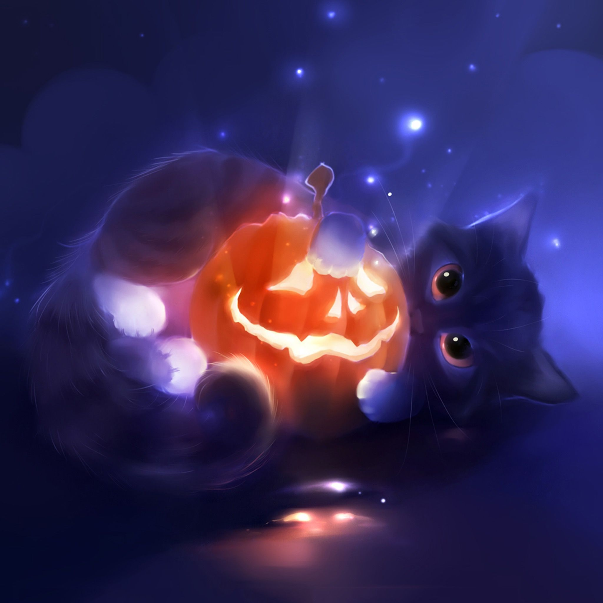 Pin By Dawn James Woodford On Wallpaper Themes Halloween Wallpaper Halloween Cat Cute Art