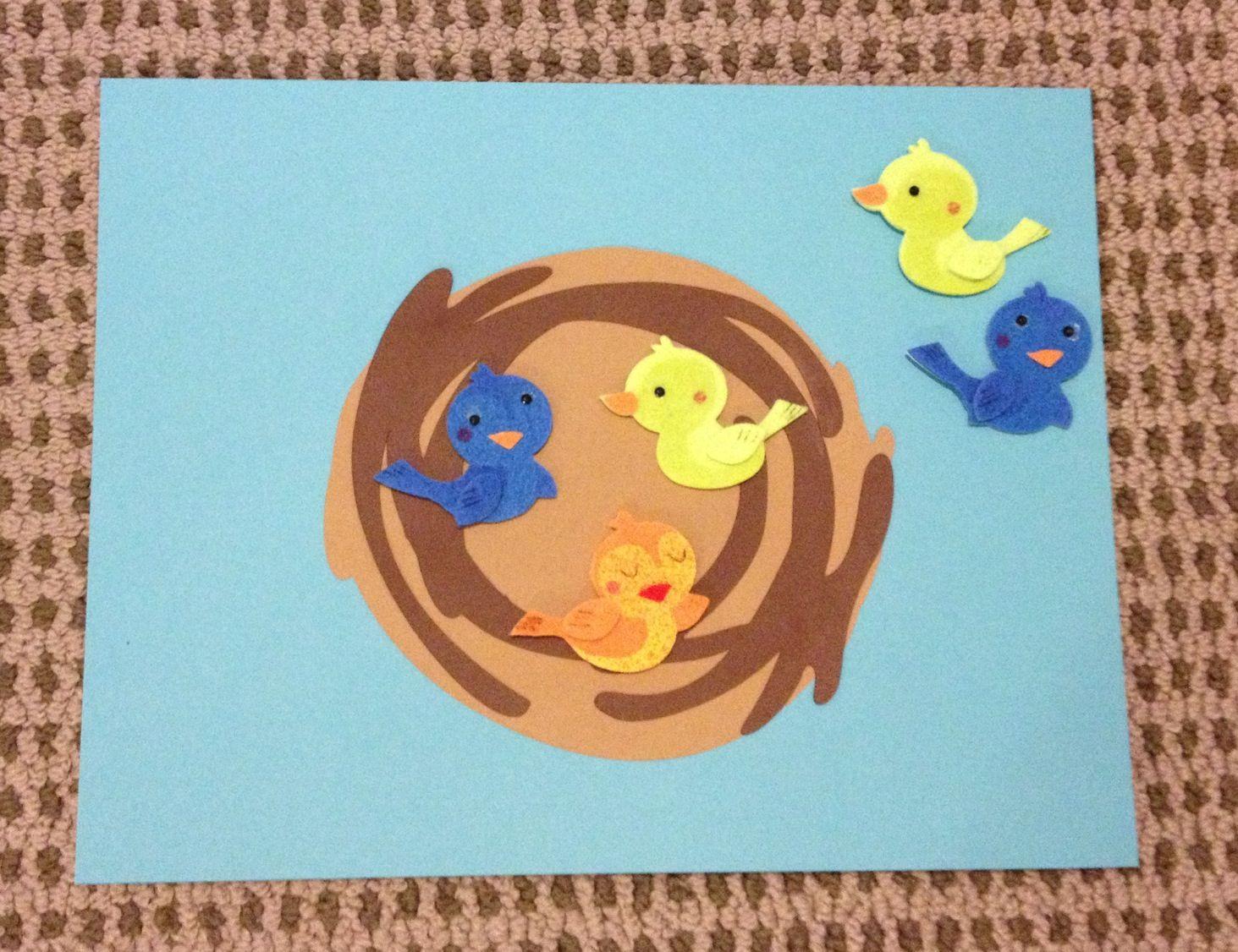Number Bonds Birds In A Nest