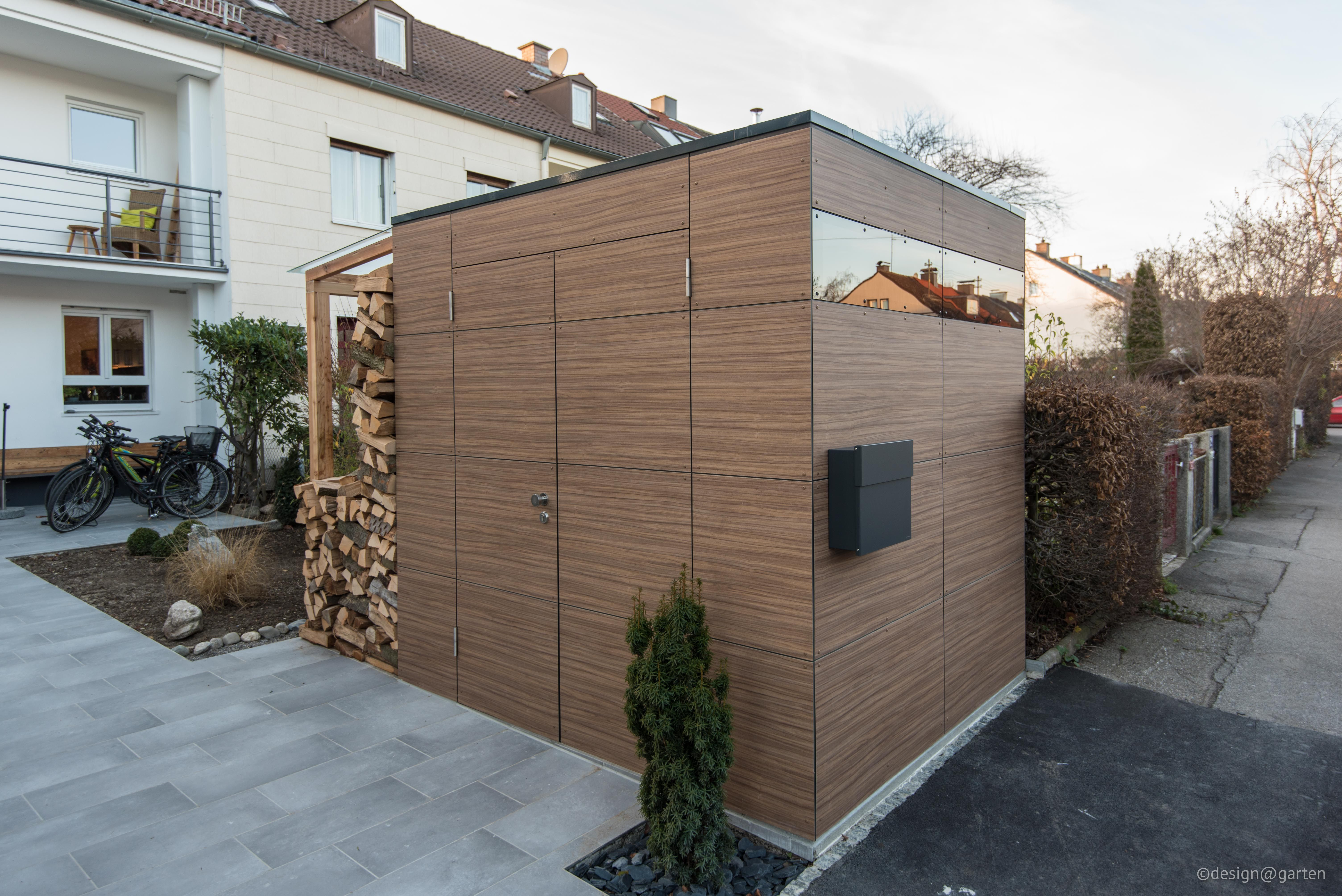 design gartenhaus french walnut by design garten. Black Bedroom Furniture Sets. Home Design Ideas