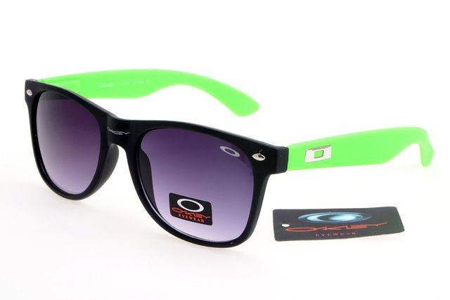 318867114e53 Oakley New Holbrook Sunglasses Black/Green Frame Lavender Lens is the  preferential prices, only $15.