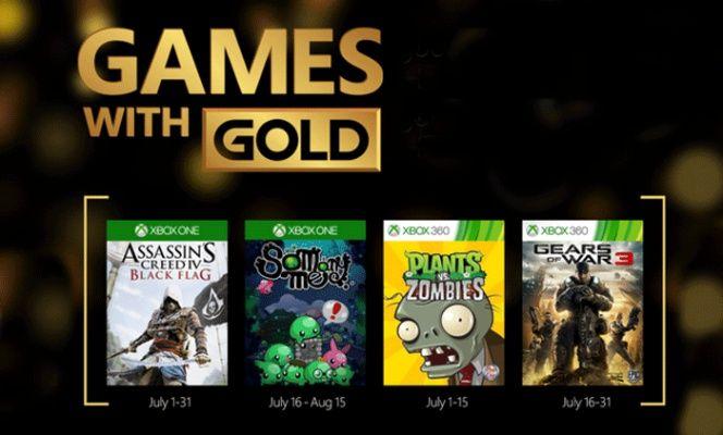Juegos Gratis De Xbox Live Gold Para Xbox One Y Xbox 360 En Julio