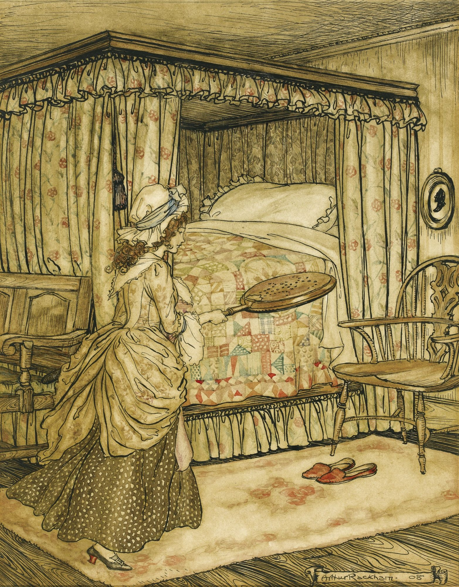 """Arthur Rackham. 
