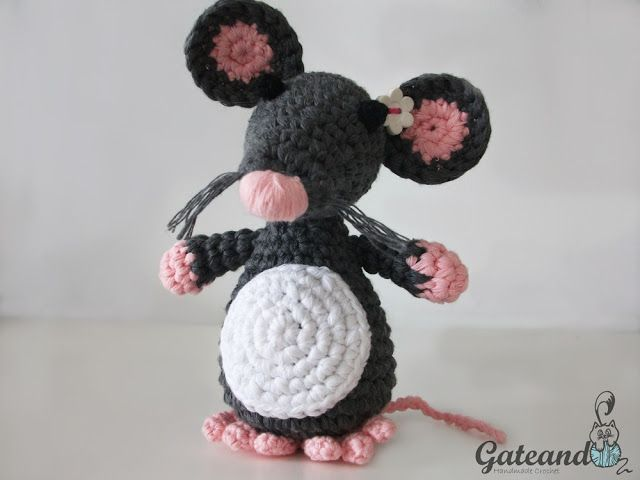 Make It: Mouse - Free Crochet Pattern ...Thanks so xox https://uk ...