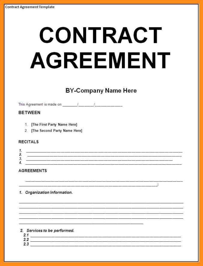 9+ sample agreement between two parties agenda example Agreement - Example Of Agreement Between Two Parties