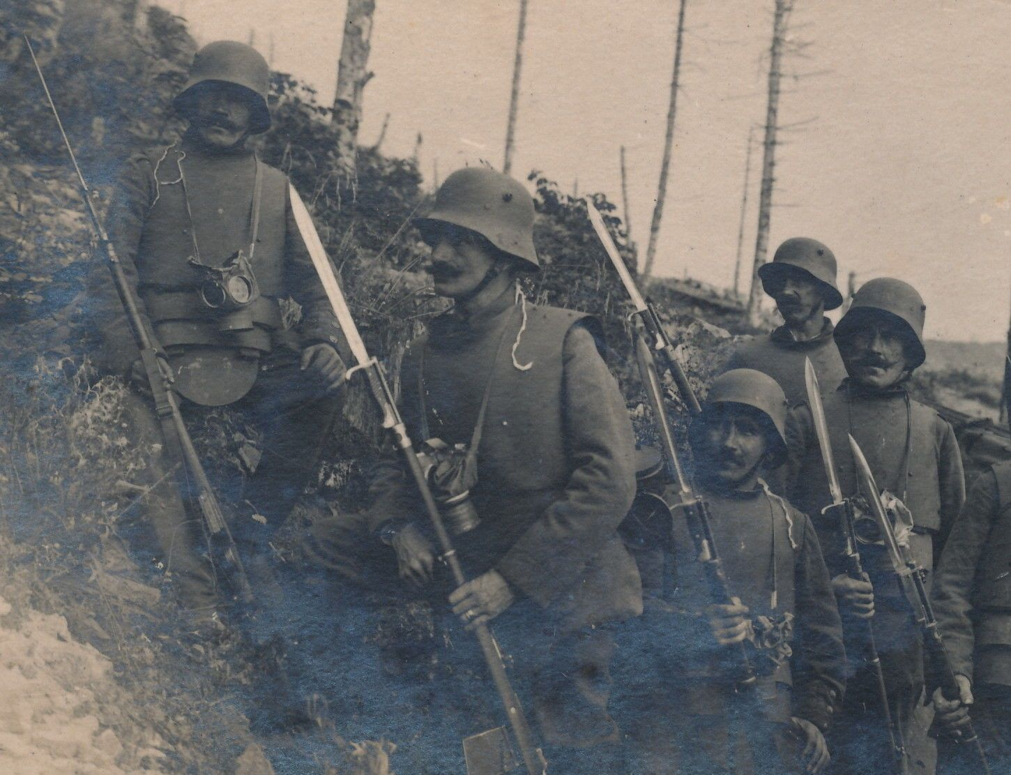 Late war Germans with body armour.