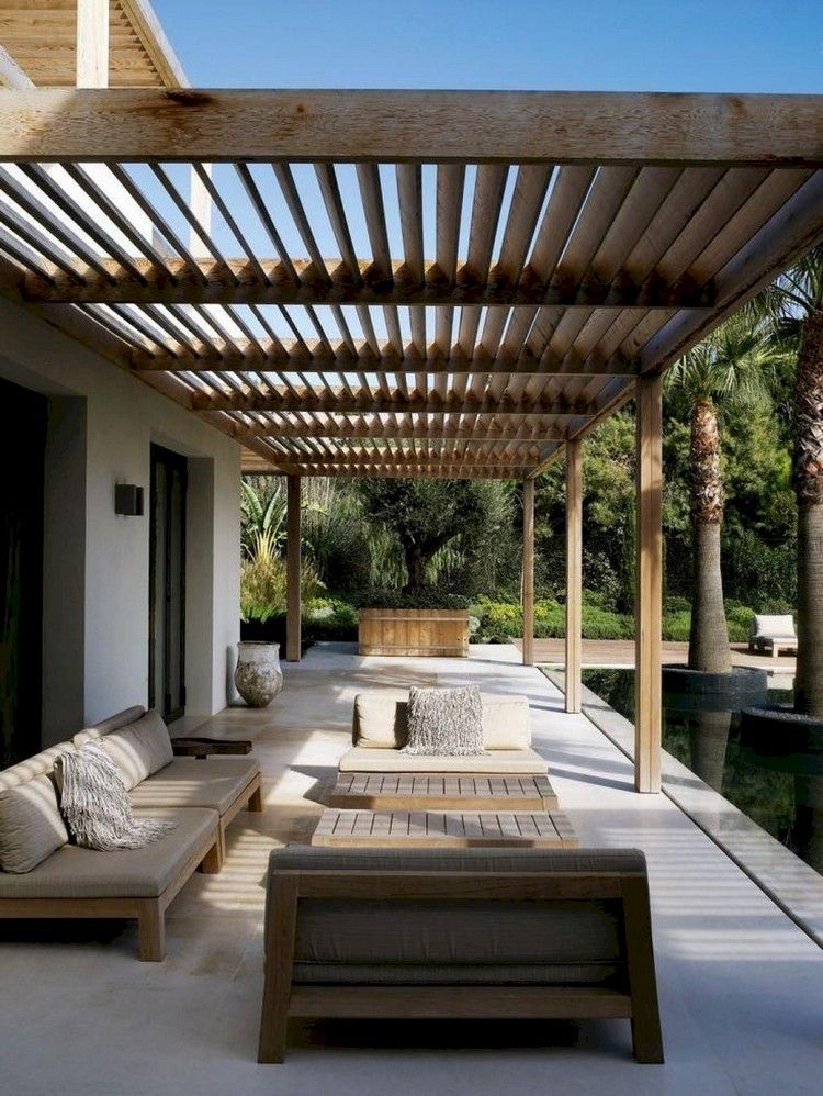 50 Fantastic Backyard Patio Ideas On A Budget Modern Patio Design Modern Pergola Designs Modern Pergola