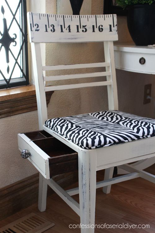 High Quality Sewing Chair With A Secret Compartment
