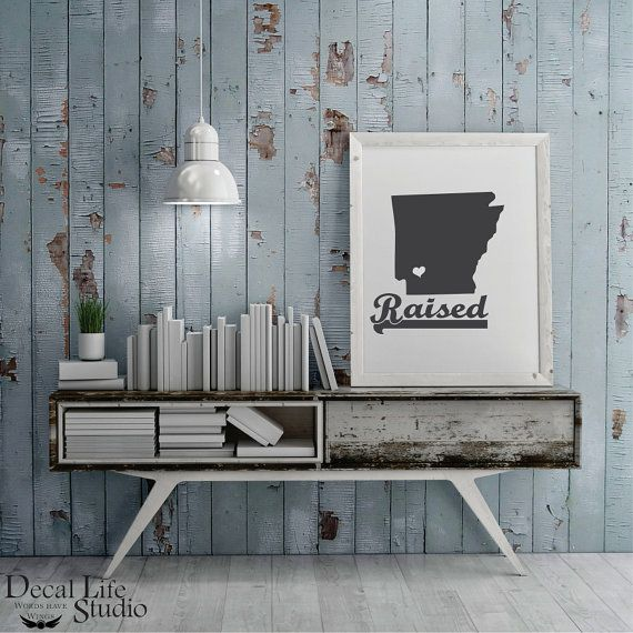Spice up your walls with our premium vinyl decal wall art. 😍 The look of freshly painted words without the mess, time⌚or effort of painting. 🎨 We have a wide variety of colors to choose from. Decal Life Studio 🌟 Arkansas Raised Wall Decal