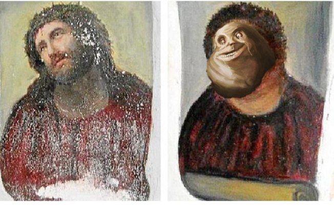 Parodies Of Christ De Borja Over The Internet Video Jesus Christ Painting 19th Century Paintings Jesus Painting