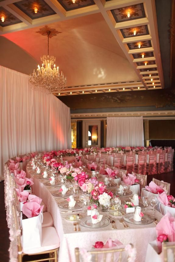 Pink Birthday Bliss - Semple Mansion, Minneapolis, MN  Linen