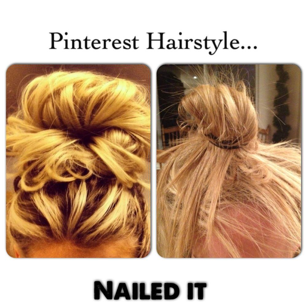 pinterest hairstyles lol #women #hair #fail | hair fails