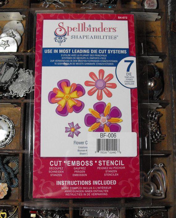 Spellbinders Shapeabilities Flower Creations by ThePaperPeddler, $7.00