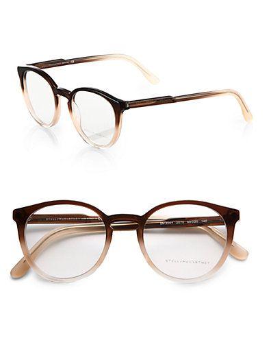 5a0ce99b0456b Stella McCartney - Round Acetate Eyeglasses - Saks.com