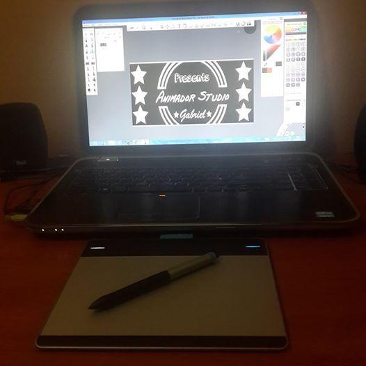 Animador Studios Gabriel: Genial en ese Programa SketchBook :3