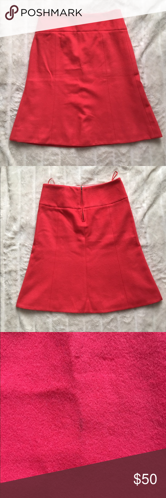J. Crew Francie Skirt NWT Waist- 14 1/2 inches Length- 21 1/2 inches 75% wool 20% nylon 5% cashmere  🎀Reasonable offers considered🎀 J. Crew Skirts